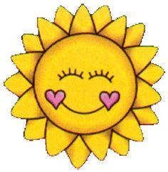 Calm clipart sun smiling Sun Summer  clip Smile