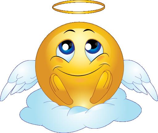 Smiley clipart angel Jokes facebook  compagesGreat Jokes
