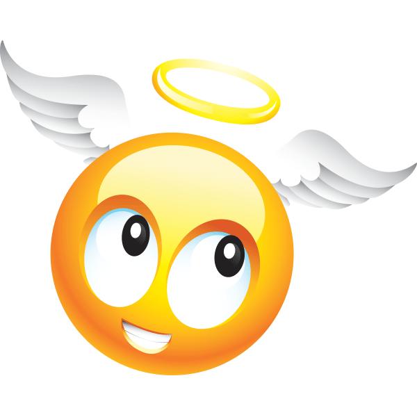 Smiley clipart angel More Angel Angel Emoticon Smileys