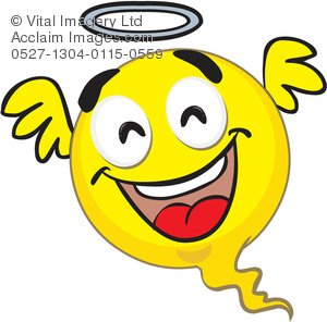 Smiley clipart angel Face of a Smiley Clip