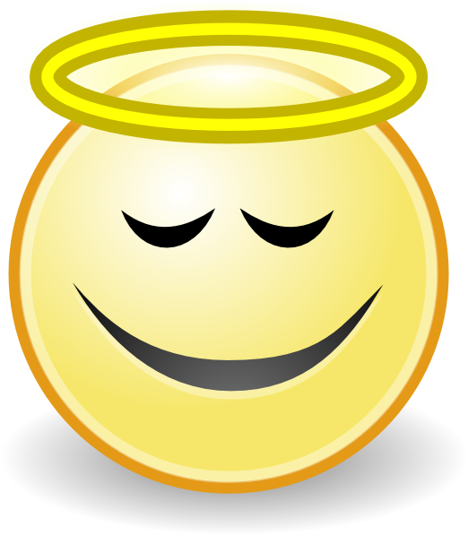 Smiley clipart angel Art as: royalty Face Angel