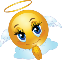 Smiley clipart angel Royalty Emoticon Clipart i2Clipart Angel