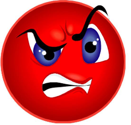 Smileys clipart dislike Smiley Angry Smiley Angry Face
