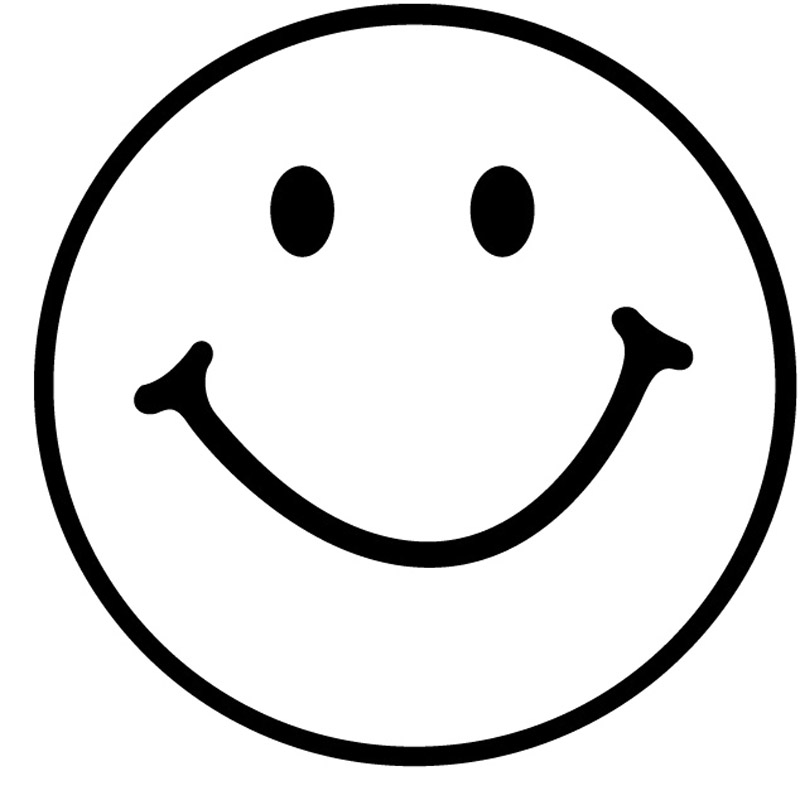 Squares clipart smiley face Face  Free Black Smiley