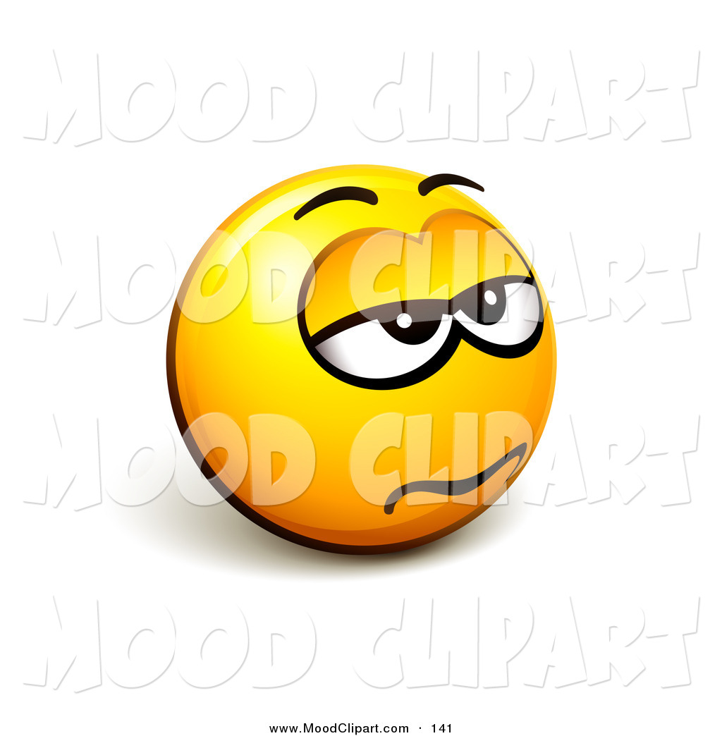 Smileys clipart bored Emoticon collection Bored face art