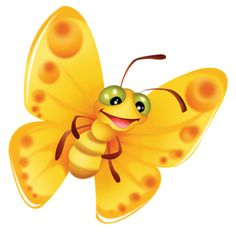 Smiley clipart butterfly Clipart» A Cartoon Baby Яндекс