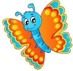 Smiley clipart butterfly Servicio Pinterest FlowersClip Beautiful Diarios