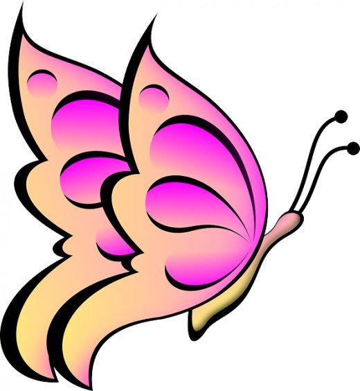 Smiley clipart butterfly BUTTERFLY Clip Best ART Art