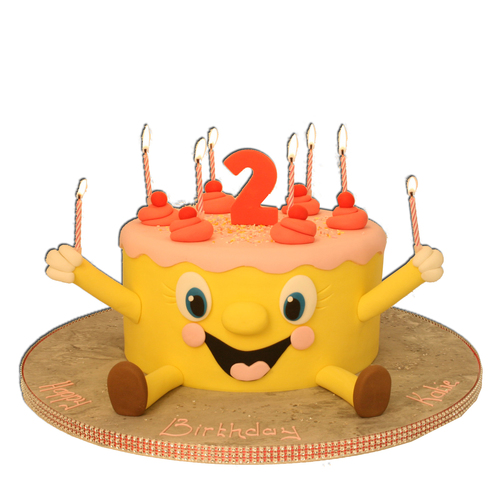 Smiley clipart cake Cake Birthday Cakes Image 1