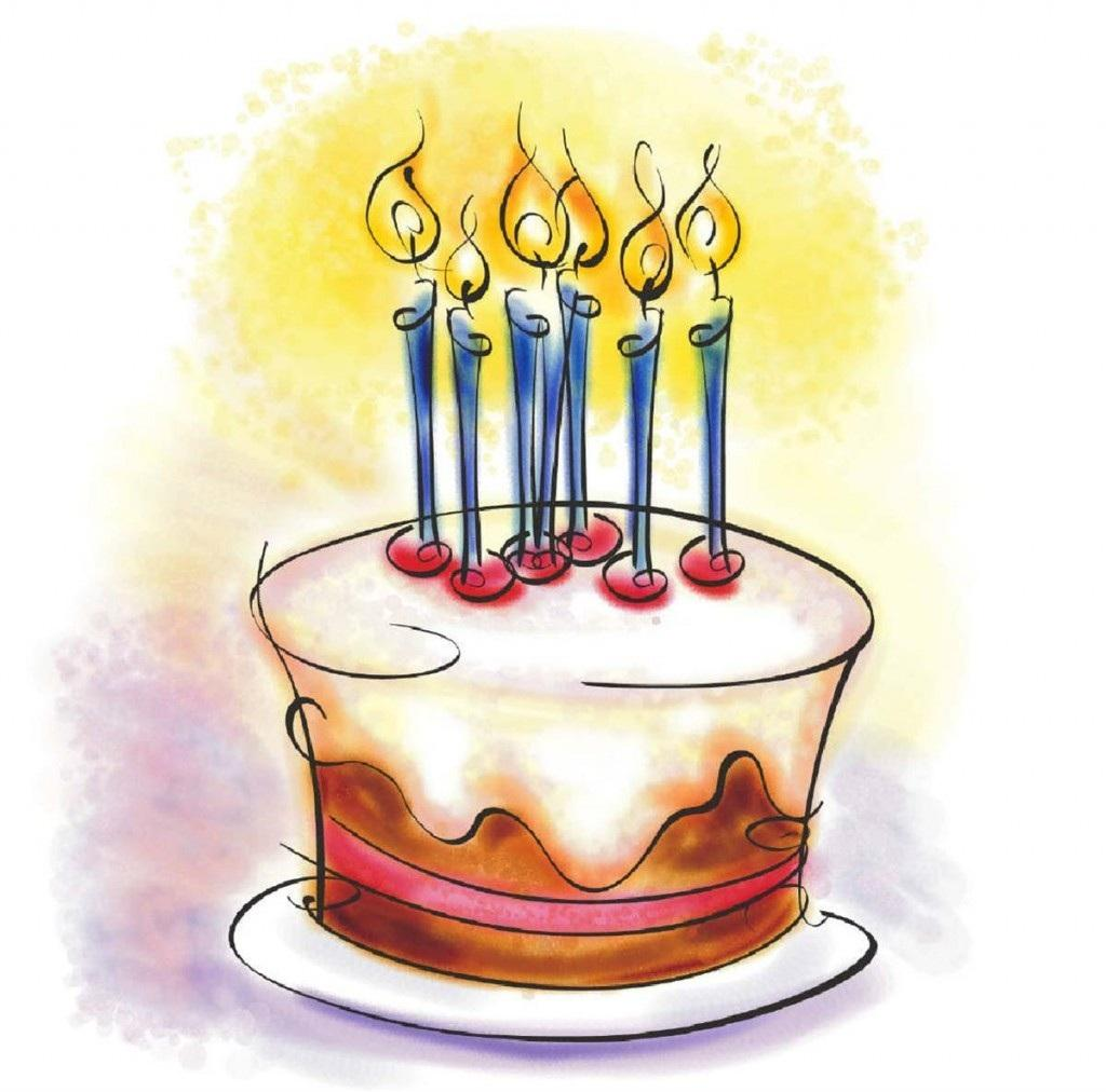 Smiley clipart cake Cake Smiley Birthday Clipart Image