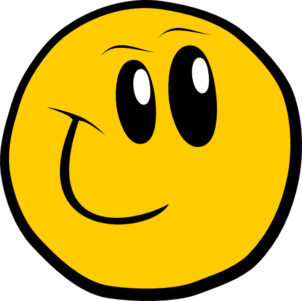Smiley clipart cartoon Face Smiley Clipart Cartoon