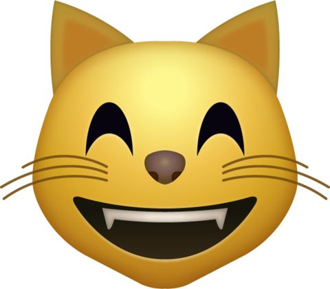 Cat clipart emoji 25+ icon high >> cat