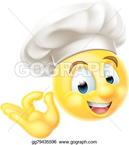 Smiley clipart chef Cooks Art dressed Art emoji