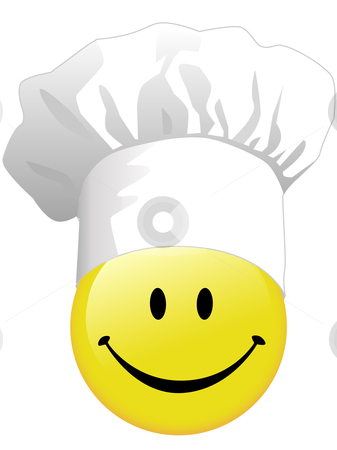 Smiley clipart chef In hat of Joy face