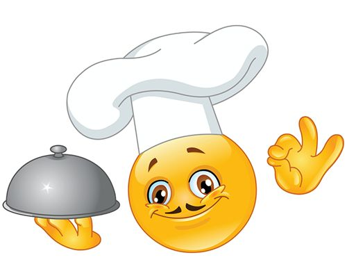 Smiley clipart chef Smiley Chef images best on
