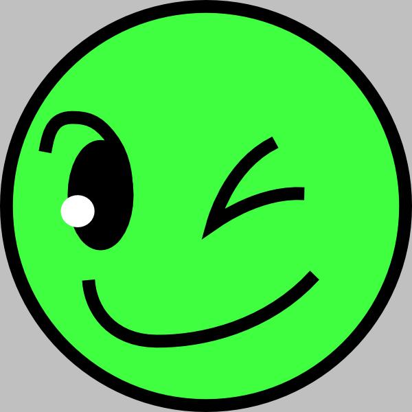 Smileys clipart circle Clip vector Green online com