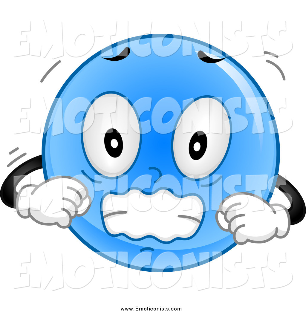 Smiley clipart cold Page Shivering 10 Blue Emoticon