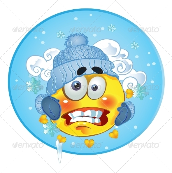 Smiley clipart cold By Sun Winter in Frozen