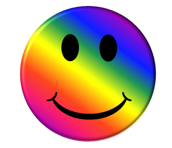 Smileys clipart colorful Laughing  Clipart Mirror Smiley