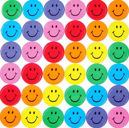 Smileys clipart colorful Button Creations Face Smiley Rainbow