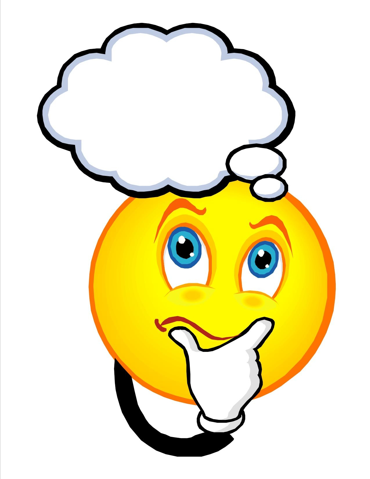 Smiley clipart confused Inspiration and Clipart Emoticon Art