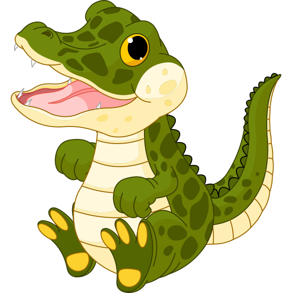 Smileys clipart crocodile And art Crocodile Little Crocodile