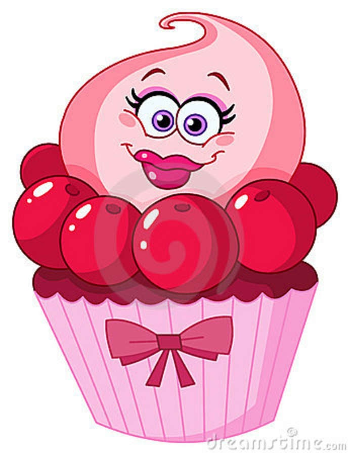 Smiley clipart cupcake With Cute on on Cupcake
