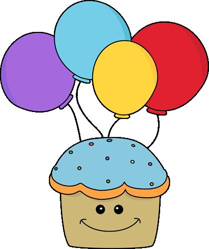 Smiley clipart cupcake Orange Clipart Clip Panda Birthday