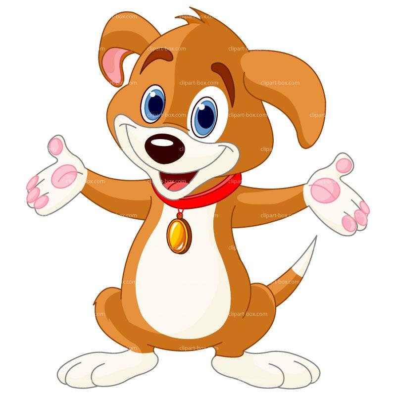 Box clipart dog Illustrations art image happy clip