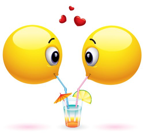 Smileys clipart drinking water A about Drink best images