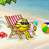 Smiley clipart drinking water Sand images Smilie best 310