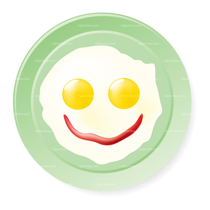Smiley clipart egg Clipart Fried fried%20eggs%20on%20a%20plate Plate A