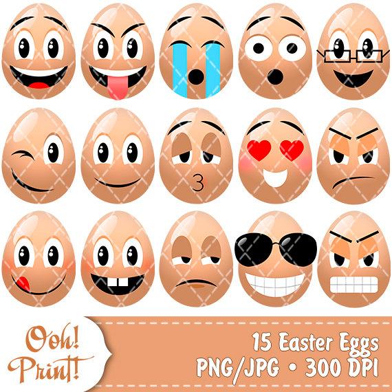 Smiley clipart egg To Emoji Easter Art similar