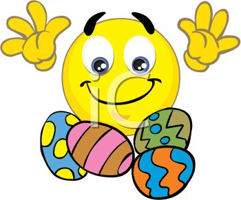 Smiley clipart egg Download Easter Egg Clipart Smiley