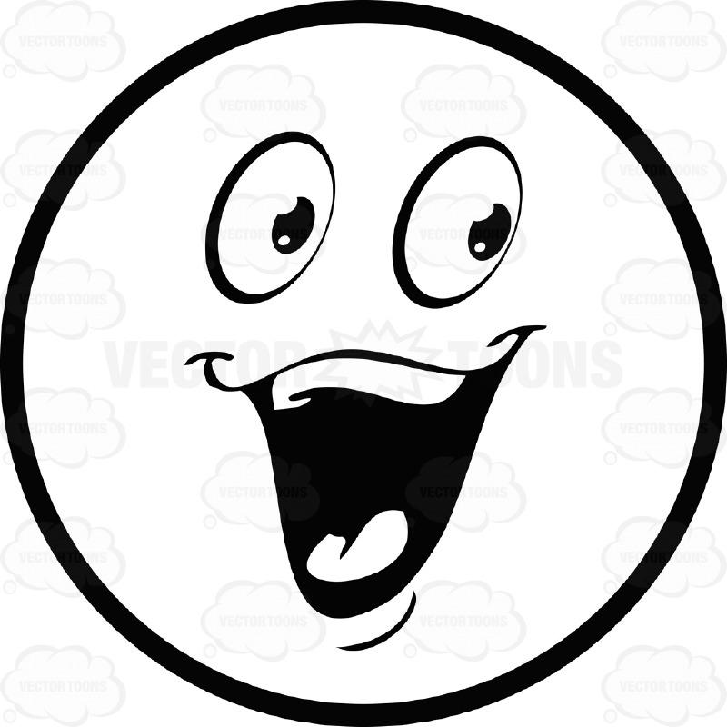 Smileys clipart happy emoji Panda Black  Clip Smiley