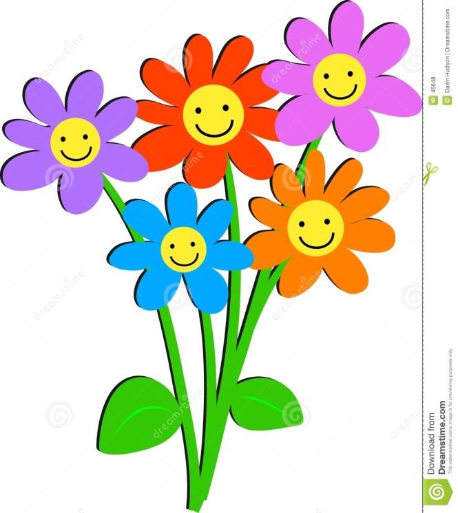Smiley clipart flower Flower Face Flowers Flower Smiley