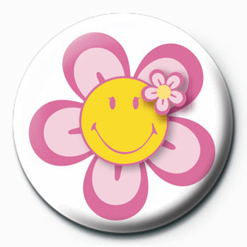 Smiley clipart flower (Flower) Sold Button Smiley at