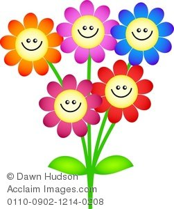 Smiley clipart flower Google Image com/_gallery/_ acclaimimages Flower