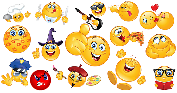Smileys clipart friend Symbols Emoticons Facebook Free Download