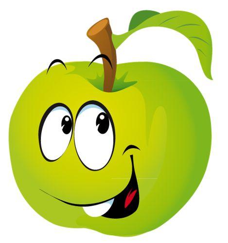Apple clipart smiley Фотках on — semira 300