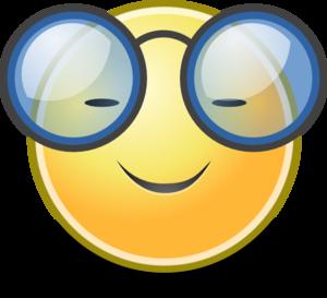 Smiley clipart glass Eyeglasses Clip Panda Clipart Art
