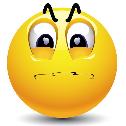 Smileys clipart confused face Best Pinterest Smiley on images