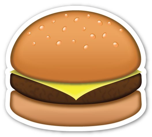 Smiley clipart hamburger Hamburger: and Pinterest Emojis EMOJIS