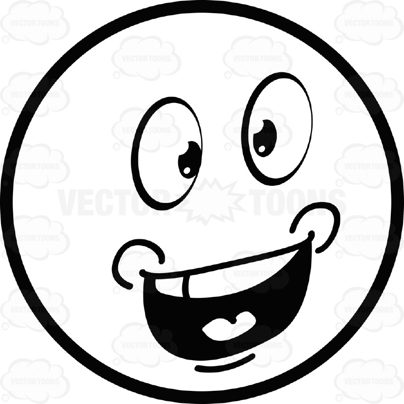 Drawn smile smiley face Large Talking Eyed And Emoticon