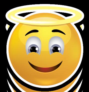 Smileys clipart emoji Sweet Angel Angel  Smiley