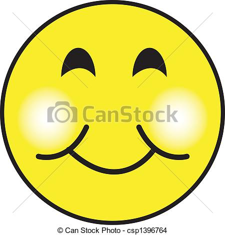 Smileys clipart excited face Face Smiley Art csp1396764 Art