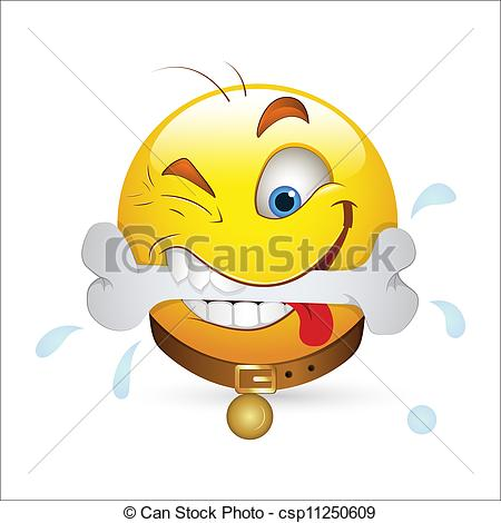 Smileys clipart hungry Clip of Hungry Smiley Smiley