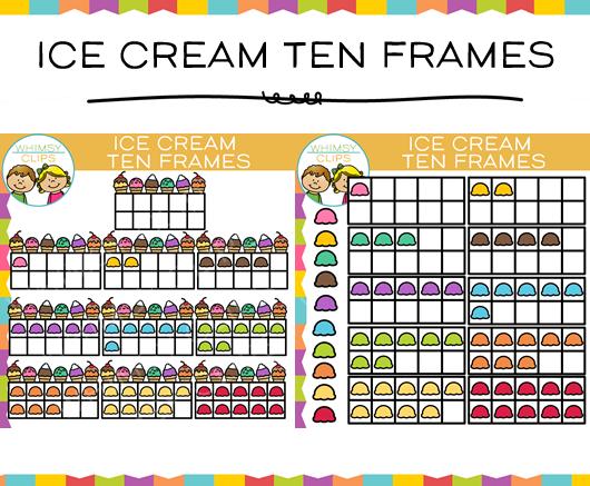 Smiley clipart ice cream Cream & Art Frame Ten