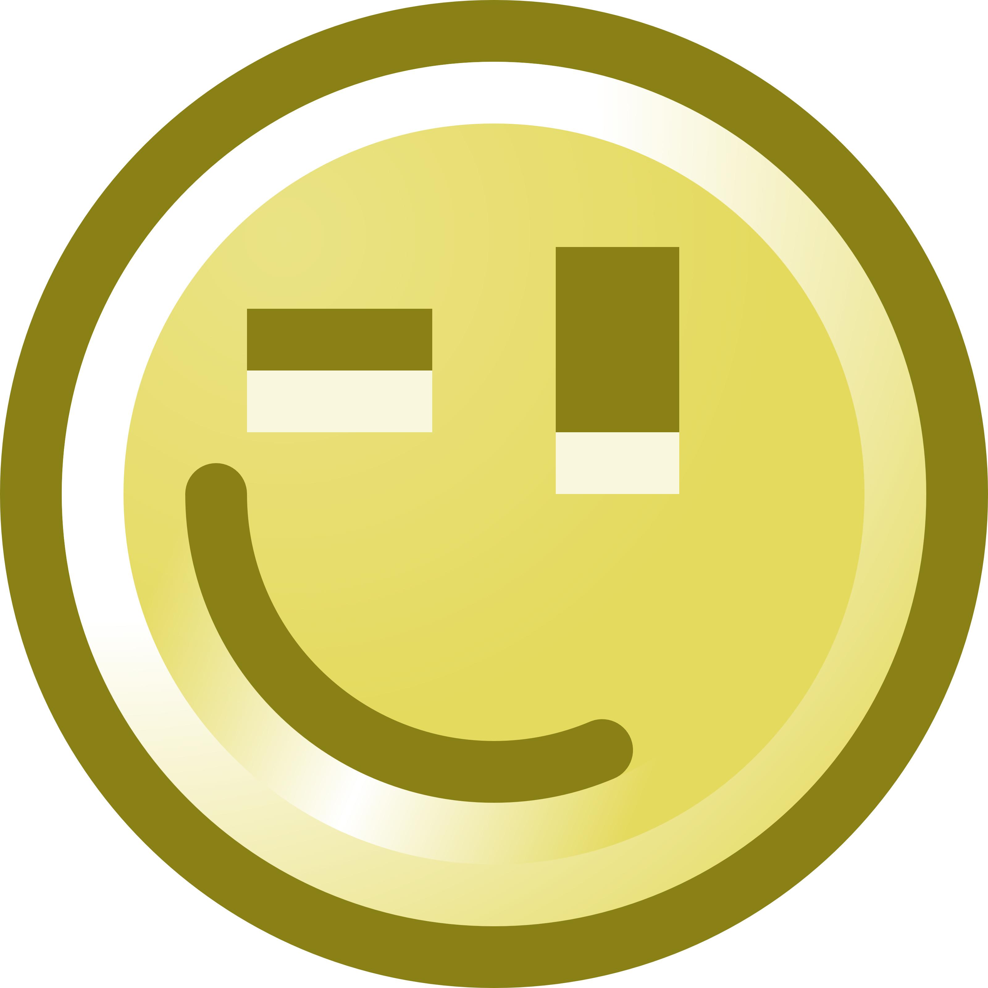 Smileys clipart circle Panda Black Smiley Face Clipart