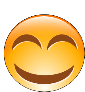 Smileys clipart laugh Art online vector  Laughing